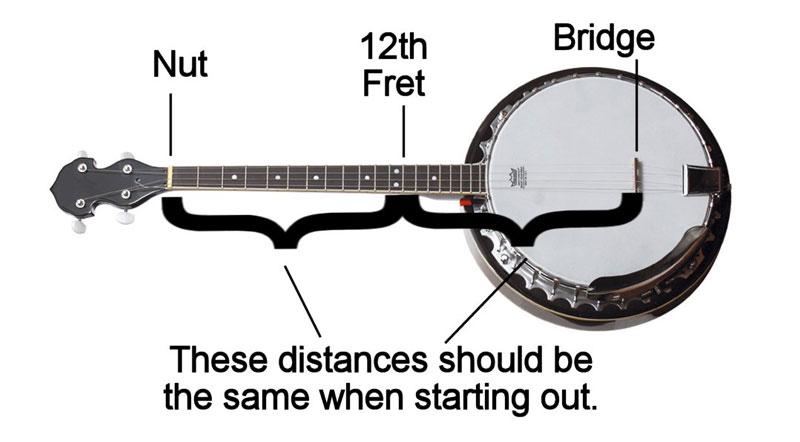 Banjo Setup 4 String